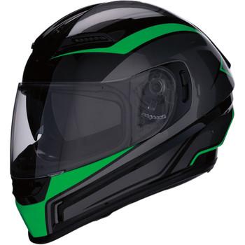 Z1R Jackal Aggressor Helmet - Green