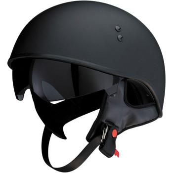 Z1R Vagrant Half Helmet - Flat Black