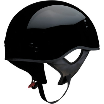 Z1R Vagrant Half Helmet - Gloss Black