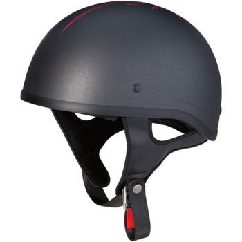 Z1R CC Beanie Half Helmet - Pinstripe