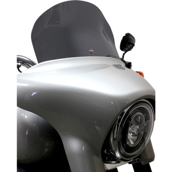 "Klock Werks 8"" Flare Windshield for 2018-2019 Harley Sport Glide - Dark Smoke"