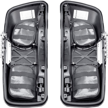 Saddlemen Saddlebag Lid Organizer Set for 2014-2019 Harley Touring