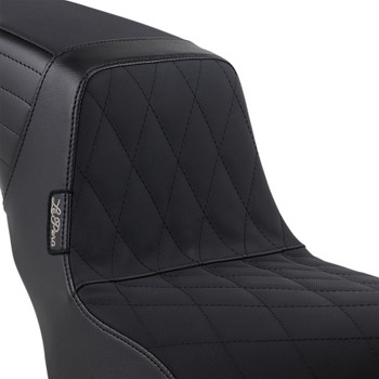 LePera Kickflip Seat for 2018-2019 Harley Street Bob - Diamond Gripp Tape