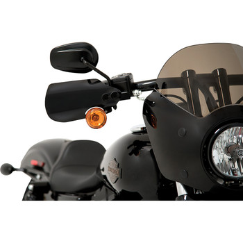 Memphis Shades Hand Guards for Harley* - MEB7219 - Black
