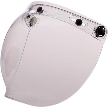 Z1R Flip Up Bubble Face Shield - Clear