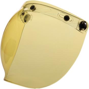 Z1R Flip Up Bubble Face Shield - Amber
