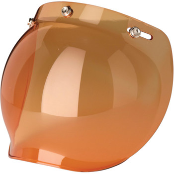Z1R Bubble Face Shield - Amber