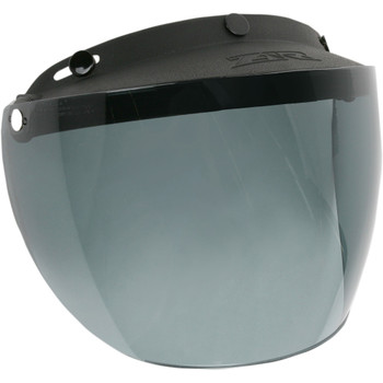 Z1R 3-Snap Flip Up Face Shield - Smoke