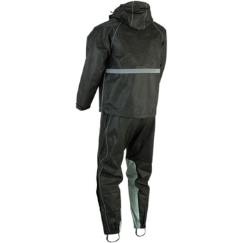 Z1R Women's Rain Suit - Black