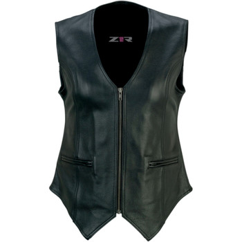 Z1R Women's Scorch Leather Vest
