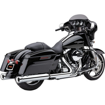Cobra Neighbor Hater Exhaust Mufflers for 1995-2016 Harley Touring - Chrome