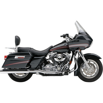 Cobra True Duals Header System for 1995-2006 Harley Touring - Chrome