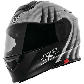 Speed and Strength SS4100 Spikes Modular Helmet - Silver