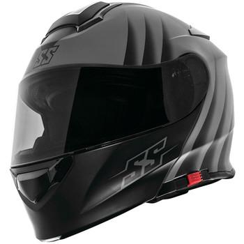 Speed and Strength SS4100 Spikes Modular Helmet - Grey
