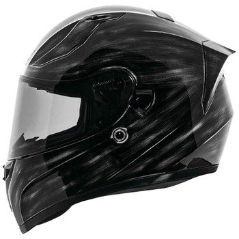 Speed and Strength SS2100 Solid Speed Helmet - Grunged Black