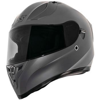 Speed and Strength SS2100 Solid Speed Helmet - Satin Gunmetal Grey
