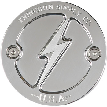 Thrashin Supply Points Cover for Harley M8 - Polished