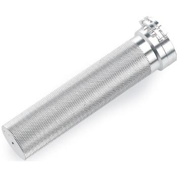 "Biltwell 1"" Whiskey Throttle Tube - Silver"