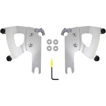 Memphis Shades Trigger-Lock Mount Kit for 2005-2019 Harley Road King with Road Warrior Fairing