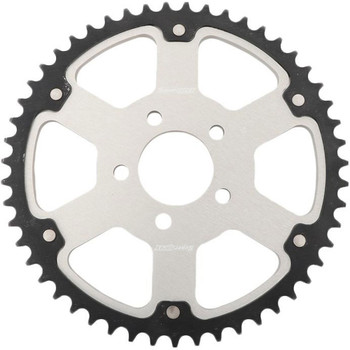 Supersprox Stealth Sprocket for 1984-1999 Harley* - Silver