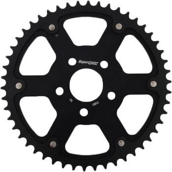 Supersprox Stealth Sprocket for 2000-2019 Harley* - Black