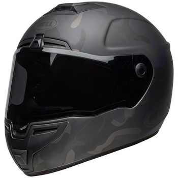 Bell SRT Helmet - Stealth Matte Black Camo