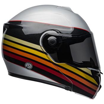 Bell SRT Modular Helmet - RSD Newport Matte/Gloss Metal-Red