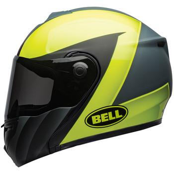 Bell SRT Modular Helmet - Presence Matte/Gloss Hi-Viz Yellow