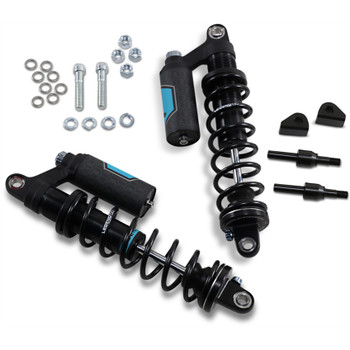 Legend Revo-Arc Piggyback Coil Shocks for Harley FXR