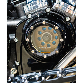 Trask Assault Series Cam Cover for Harley M8 - Gloss Black