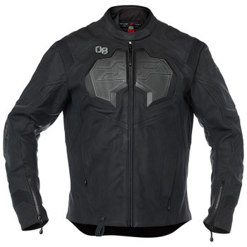 Speed and Strength Exile Leather Jacket - Black