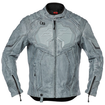 Speed and Strength Exile Leather Jacket - Charcoal