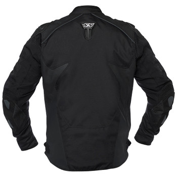 Speed and Strength Insurgent Leather/Textile Jacket - Black