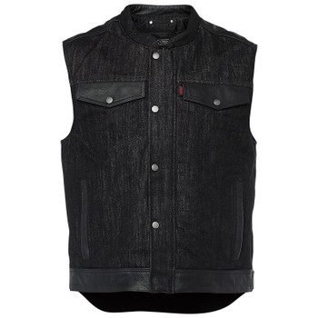 Speed and Strength Rover Denim/Leather Vest