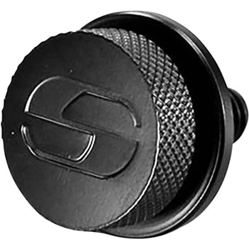 Saddlemen 1/4-28 Seat Mounting Knob for Harley FXR - Black