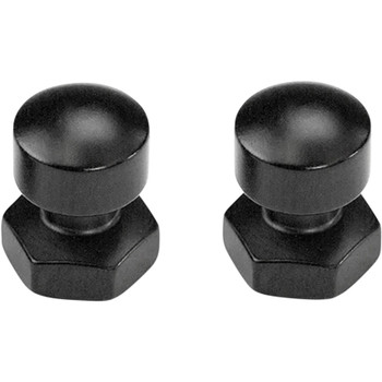 Saddlemen Seat Mounting Nuts for Harley Touring - Black
