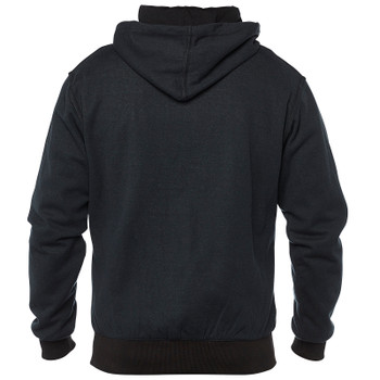 Speed and Strength Resistance Armored Moto Hoody - Black