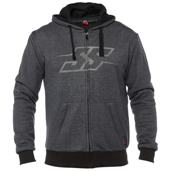 Speed and Strength Resistance Armored Moto Hoody - Charcoal