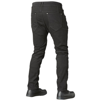 Speed and Strength Havoc Slim Fit Moto Jeans - Black