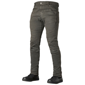 Speed and Strength Havoc Slim Fit Moto Jeans - Charcoal