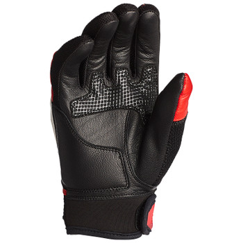 Speed and Strength Insurgent Leather/Mesh Gloves - Red/Black/White