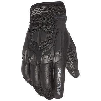 Speed and Strength Insurgent Leather/Mesh Gloves - Black
