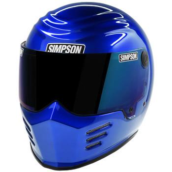 Simpson Outlaw Bandit Helmet - Rayleigh Blue