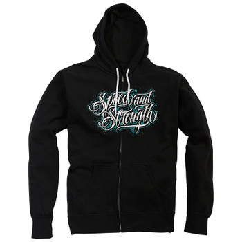 Speed and Strength Women's Scripted Full Zip Hoody
