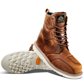 Roland Sands Mojave Boots - Tobacco