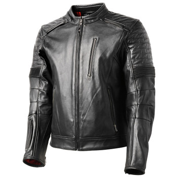 Roland Sands Punk Race Leather Jacket - Black