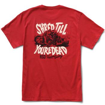 Roland Sands Shred T-Shirt - Cardinal Red