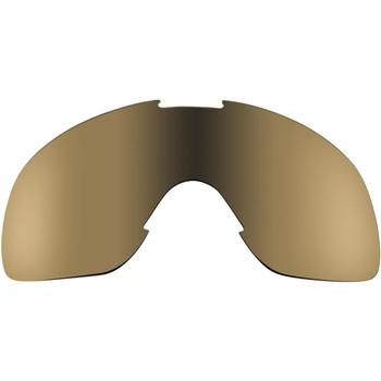 Biltwell Overland Lens - Gold Mirror/Brown