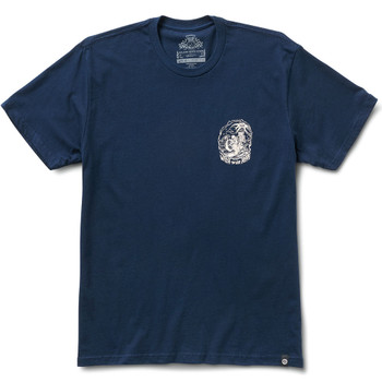 Roland Sands Beach Vibes T-Shirt - Navy Blue