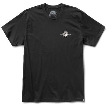 Roland Sands Roman 74 T-Shirt - Black